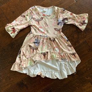 Other - Toddler girls  woodland high-lo dress